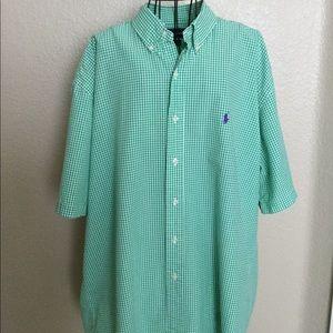 Men's Ralph Lauren Short Sleeve Shirt, XL